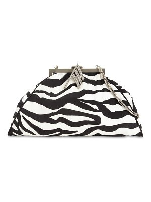 The Attico Zebra print doctor bag