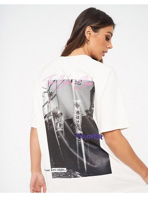 The Couture Club oversized t-shirt in white
