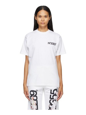 Aitor Throup's TheDSA ssense exclusive  'no2093' t-shirt