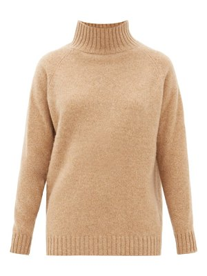 The Elder Statesman highland cashmere funnel neck sweater
