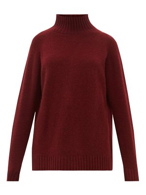 The Elder Statesman highland high neck cashmere sweater
