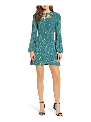 The Fifth Label amore heart print cutout minidress