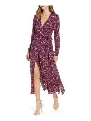 The Fifth Label celebrated floral wrap dress