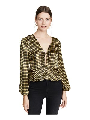 The Fifth Label goldie check top