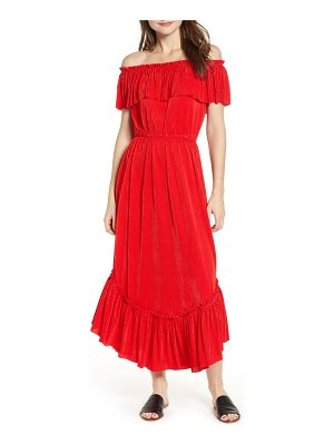The Fifth Label relatively slinky off the shoulder maxi dress