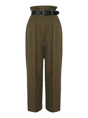 THE FRANKIE SHOP Paperbag pleated pants