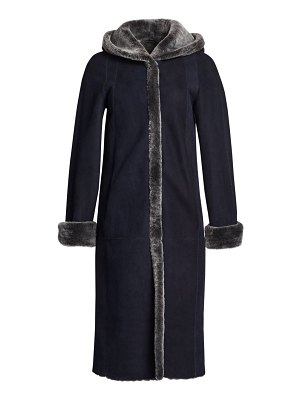 The Fur Salon reversible dyed shearling coat