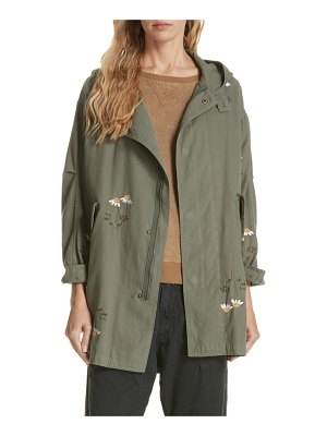 The Great embroidered military parka