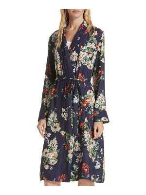 The Great floral silk robe jacket