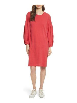 The Great the bubble sleeve dress