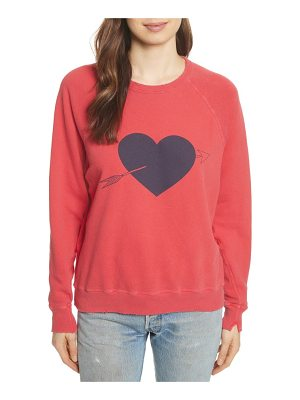 The Great the college cotton sweatshirt