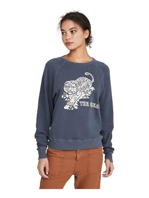 The Great the college sweatshirt with tiger graphic