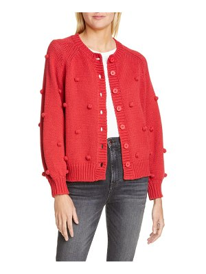 The Great the cropped bobble cardigan