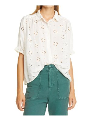 The Great the eyelet kerchief top
