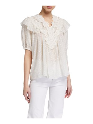 The Great The Lace Prim Top