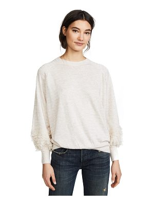 The Great the loop sleeve sweater