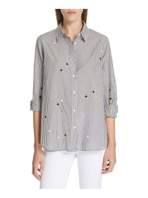The Great the oversized swing oxford shirt