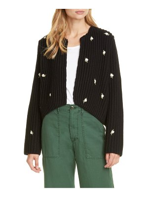 The Great the sweetheart embroidered cardigan