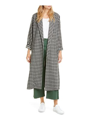The Great the yale plaid coat