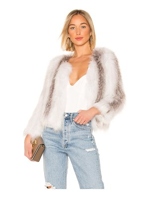 The Jetset Diaries Don't Stop Fur Jacket