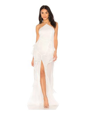 The Jetset Diaries Fara Halter Maxi Dress