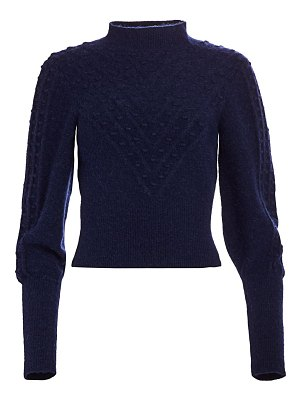 The Kooples fantasy point textured sweater