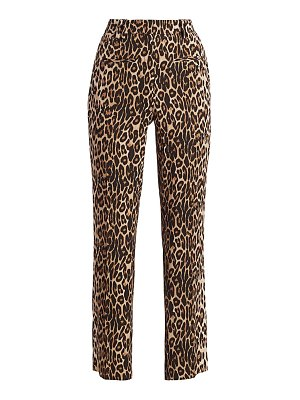 The Kooples leopard print pants