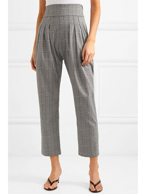 The Line By K ibina prince of wales checked woven pants