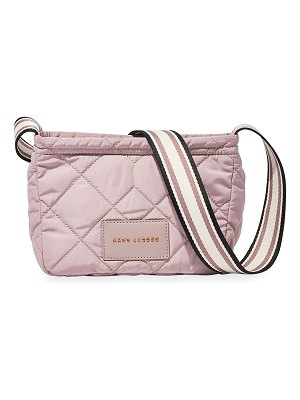 The Marc Jacobs Quilted Fabric Messenger Crossbody Bag