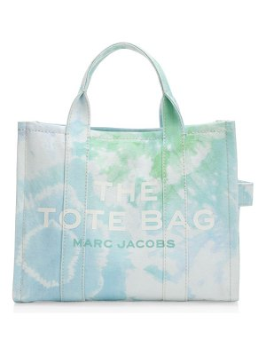 Marc Jacobs small traveler tie-dye canvas tote