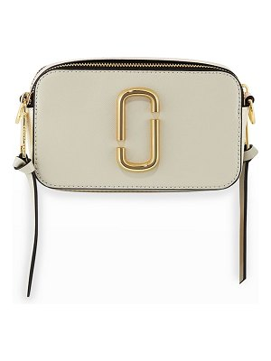 The Marc Jacobs Snapshot Coated Leather Camera Bag