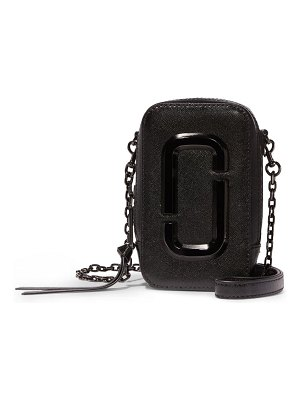 The Marc Jacobs the hot shot saffiano leather shoulder bag