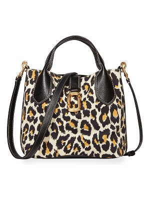 The Marc Jacobs The Leopard Reporter Crossbody Bag