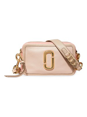 The Marc Jacobs The Snapshot 21 Leather Crossbody Bag