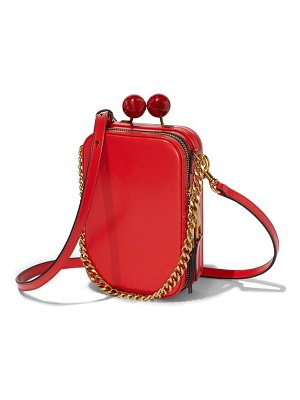 The Marc Jacobs the vanity leather crossbody bag