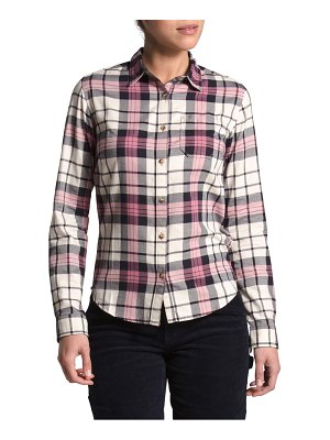 The North Face berkeley plaid flannel button-up shirt
