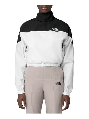 The North Face black series water repellent poplin funnel neck pullover
