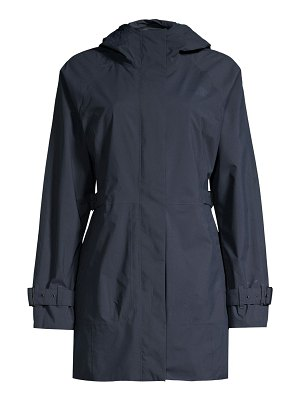 The North Face city breeze rain trench coat