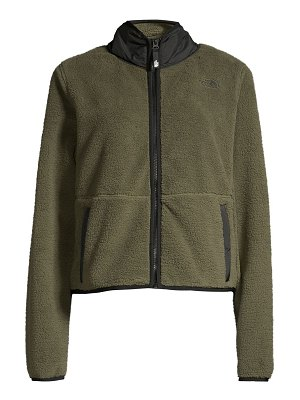 The North Face dunraven relax-fit crop jacket