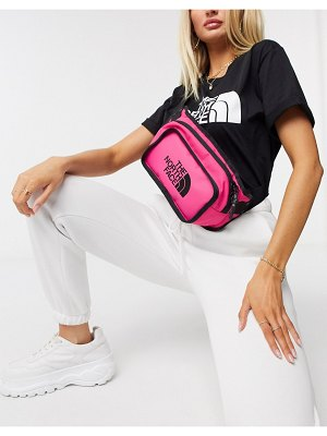 The North Face explore fanny pack in pink