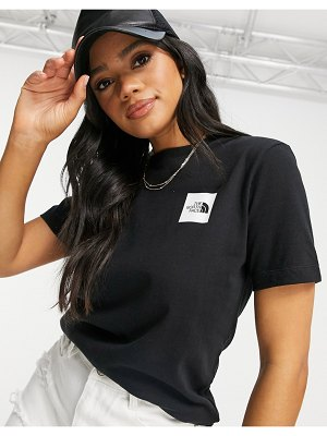 The North Face fine t-shirt in black