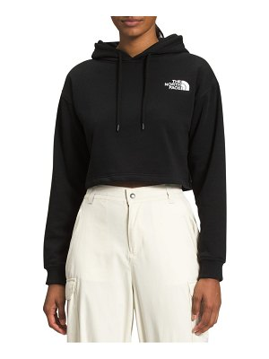 The North Face logo crop hoodie