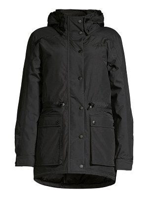 The North Face reign on standard-fit nylon down parka