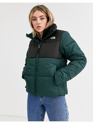The North Face saikuru jacket in green