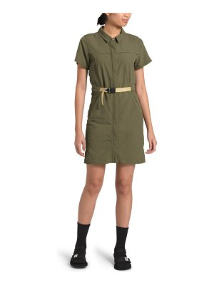 The North Face water repellent classic shirt dress