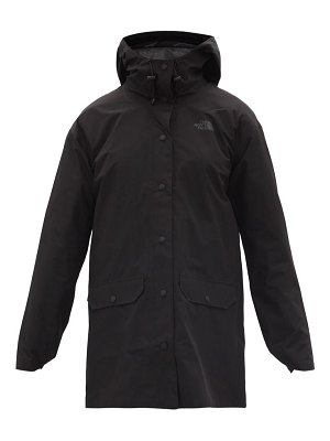 The North Face woodmont recycled-fibre shell rain jacket