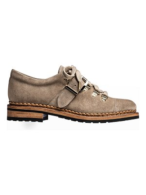 The Office of Angela Scott Mr. Logan Suede Buckle Loafers