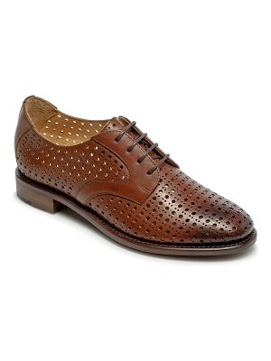 The Office of Angela Scott Ms. Gabrielle Perforated Loafers
