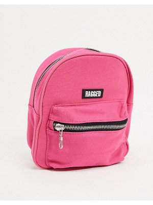 The Ragged Priest mini backpack with chains-pink