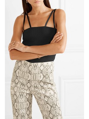 The Range alloy ribbed stretch-jersey tank